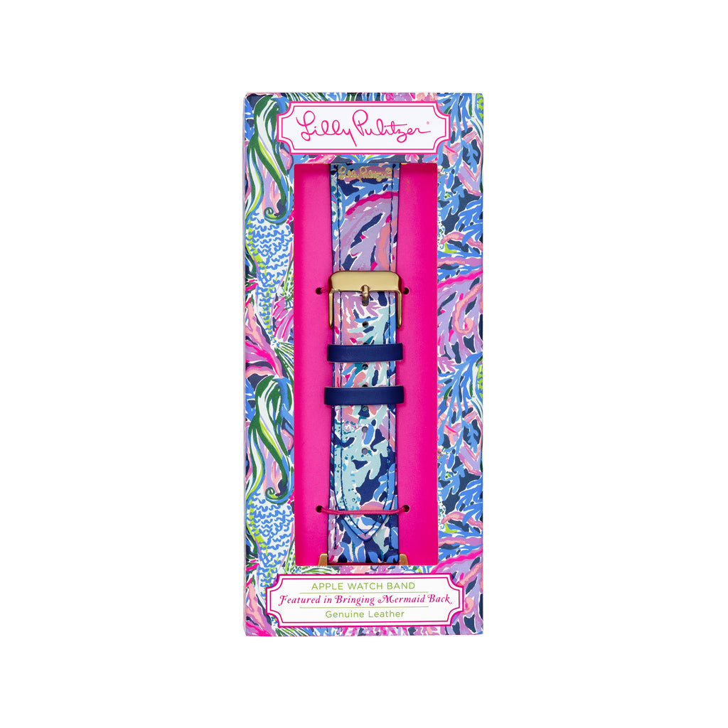Lilly Pulitzer Apple Watch Band, Bringing Mermaid Back