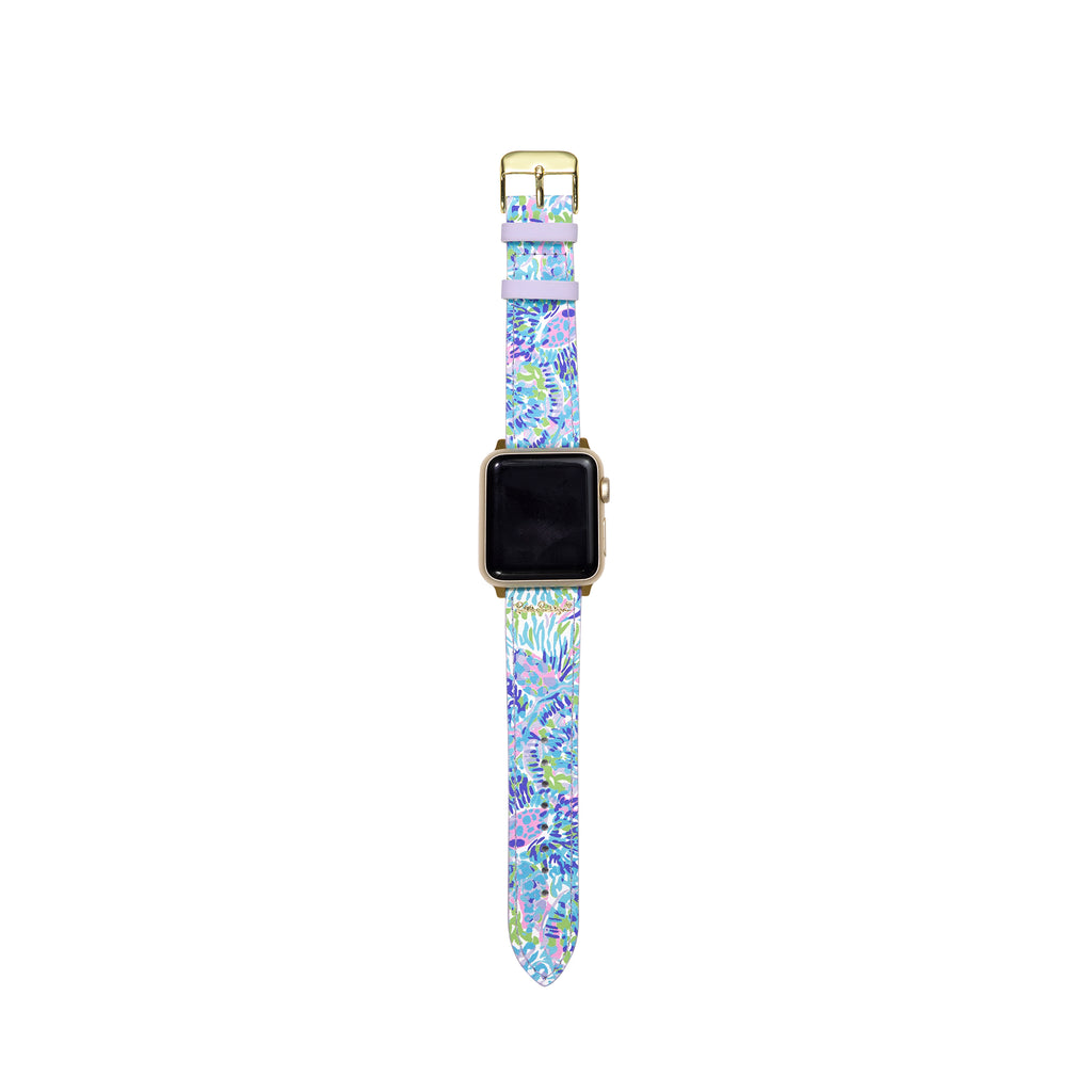 Lilly Pullitzer Apple Watch Band, Shell of a Party