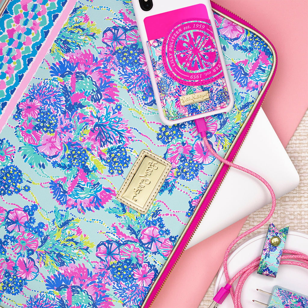 Lilly Pulitzer Charging Cord Set, Beach You To It