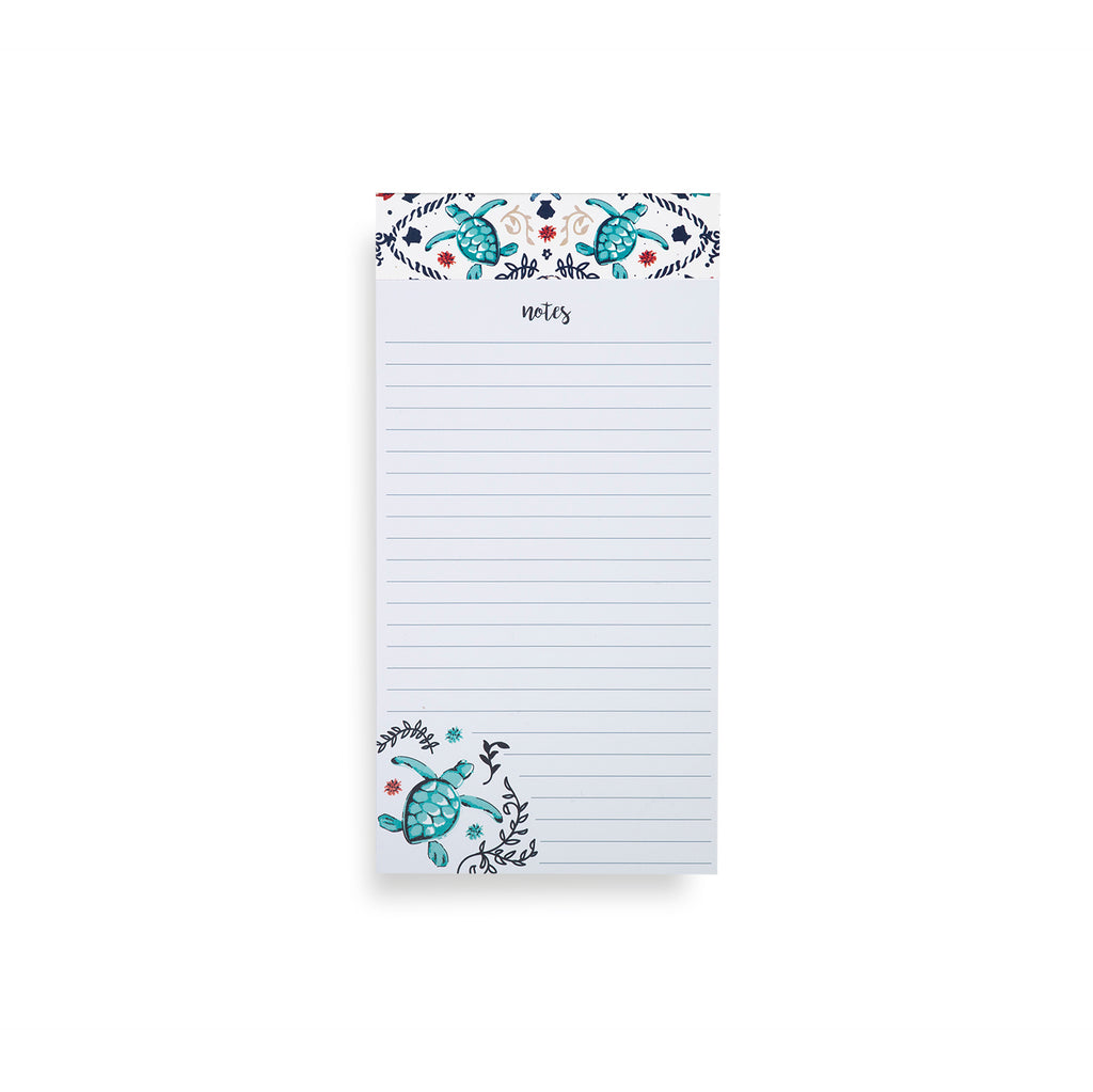 Vera Bradley Big List Pad, Sea Life