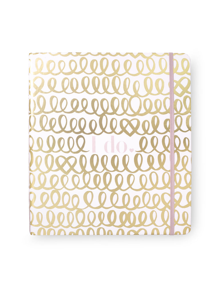 kate spade new york bridal planner, I do (gold)