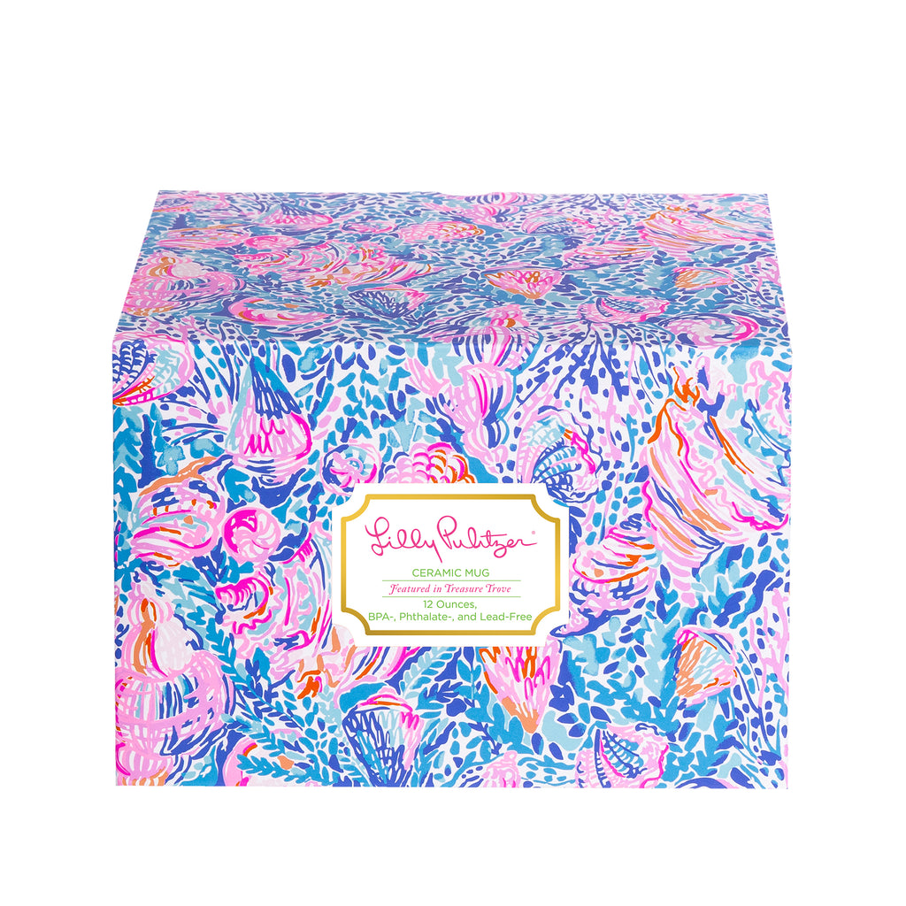 Lilly Pulitzer Ceramic Mug, Treasure Trove