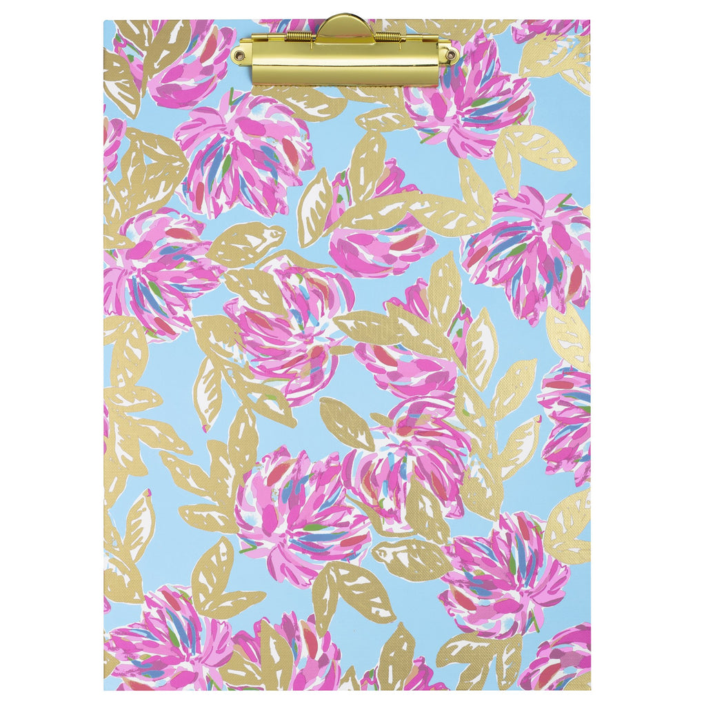 Lilly Pullitzer Clipboard Folio, Totally Blossom