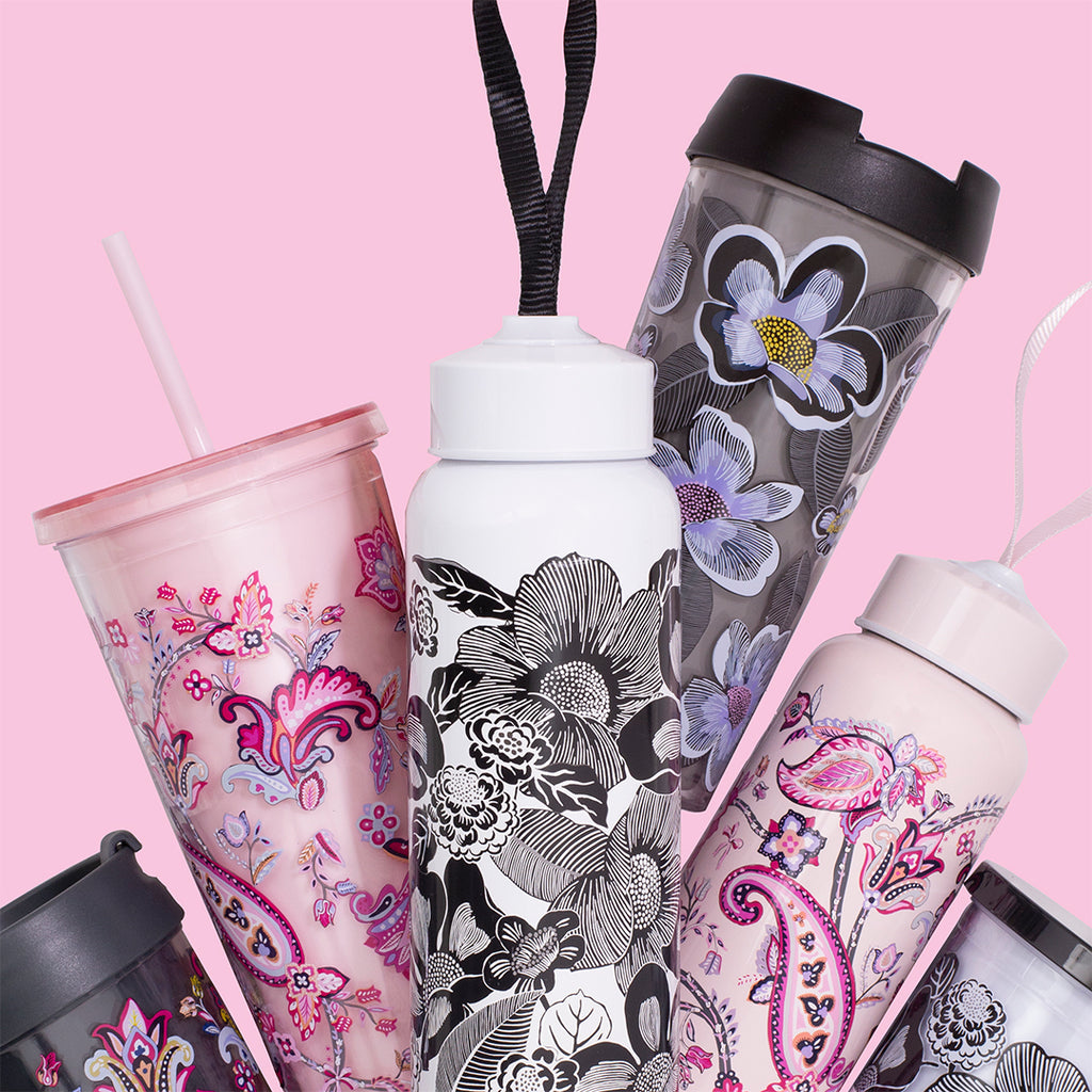 Vera Bradley Travel Mug, Blooms Shower