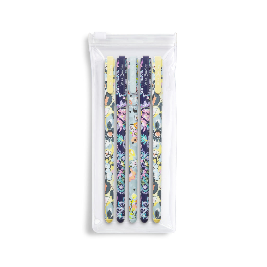 Vera Bradley Gel Pen Set, Summer 20 Medley
