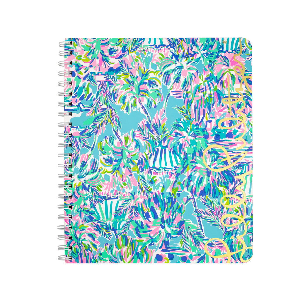 Lilly Pulitzer Large Notebook, Cabana Cocktail