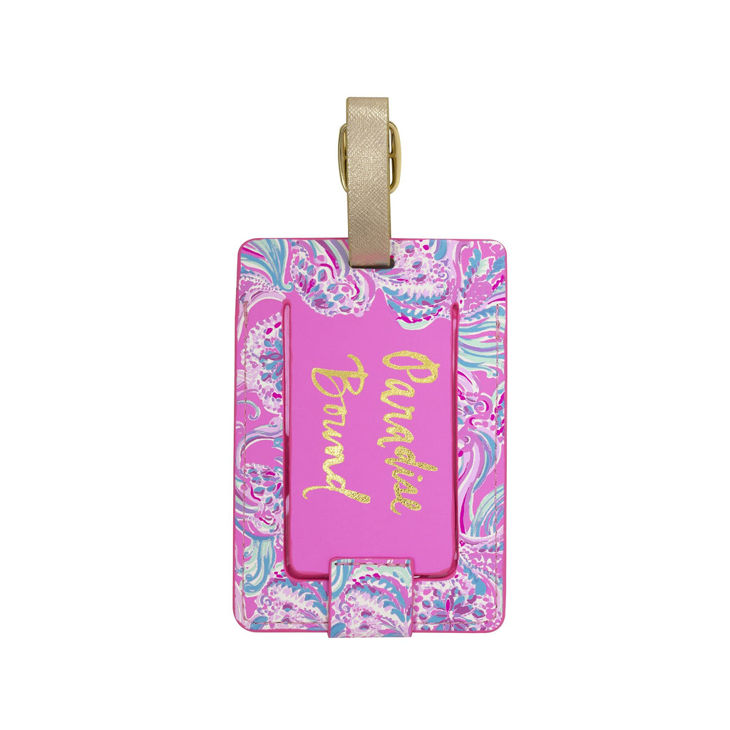 Lilly Pulitzer Luggage Tag, Don't Be Jelly