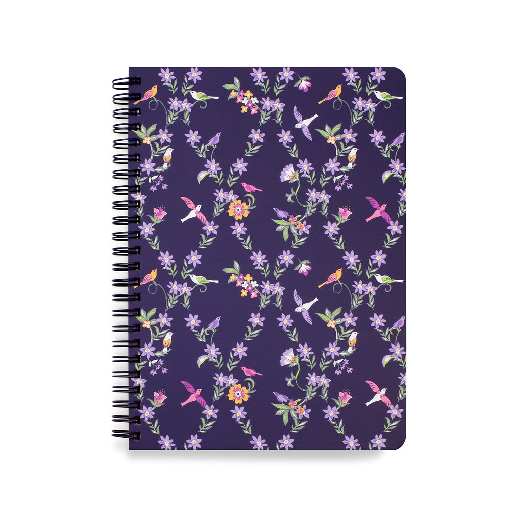 Vera Bradley Mini Notebook with Pocket, French Paisley