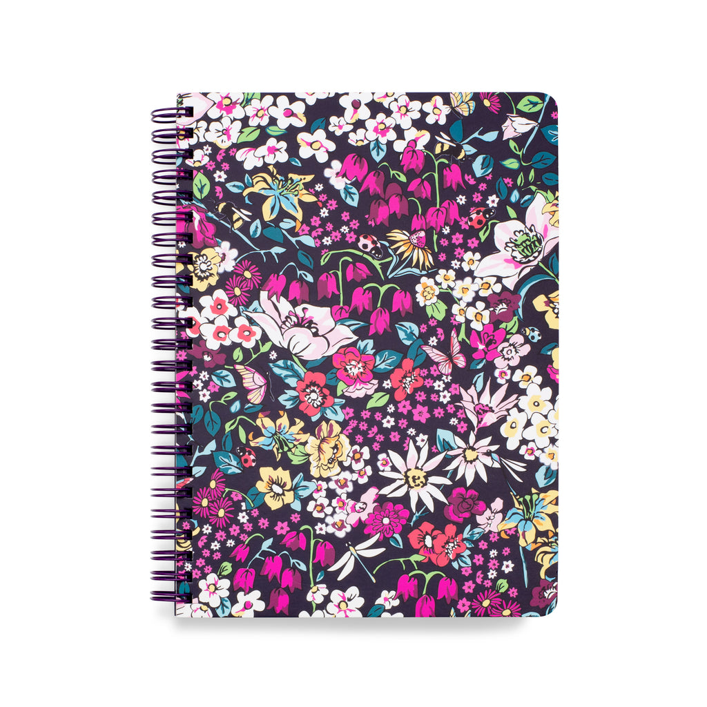 Vera Bradley Mini Notebook with Pocket, Itsy Ditsy