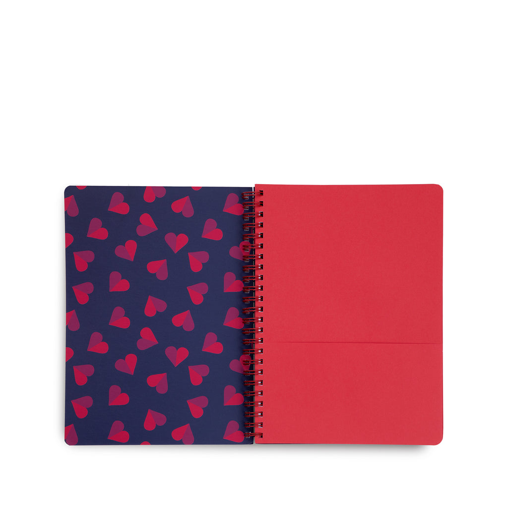 Vera Bradley Mini Notebook, Sweethearts