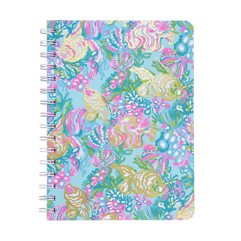Lilly Pullitzer Mini Notebook, Aqua La Vista