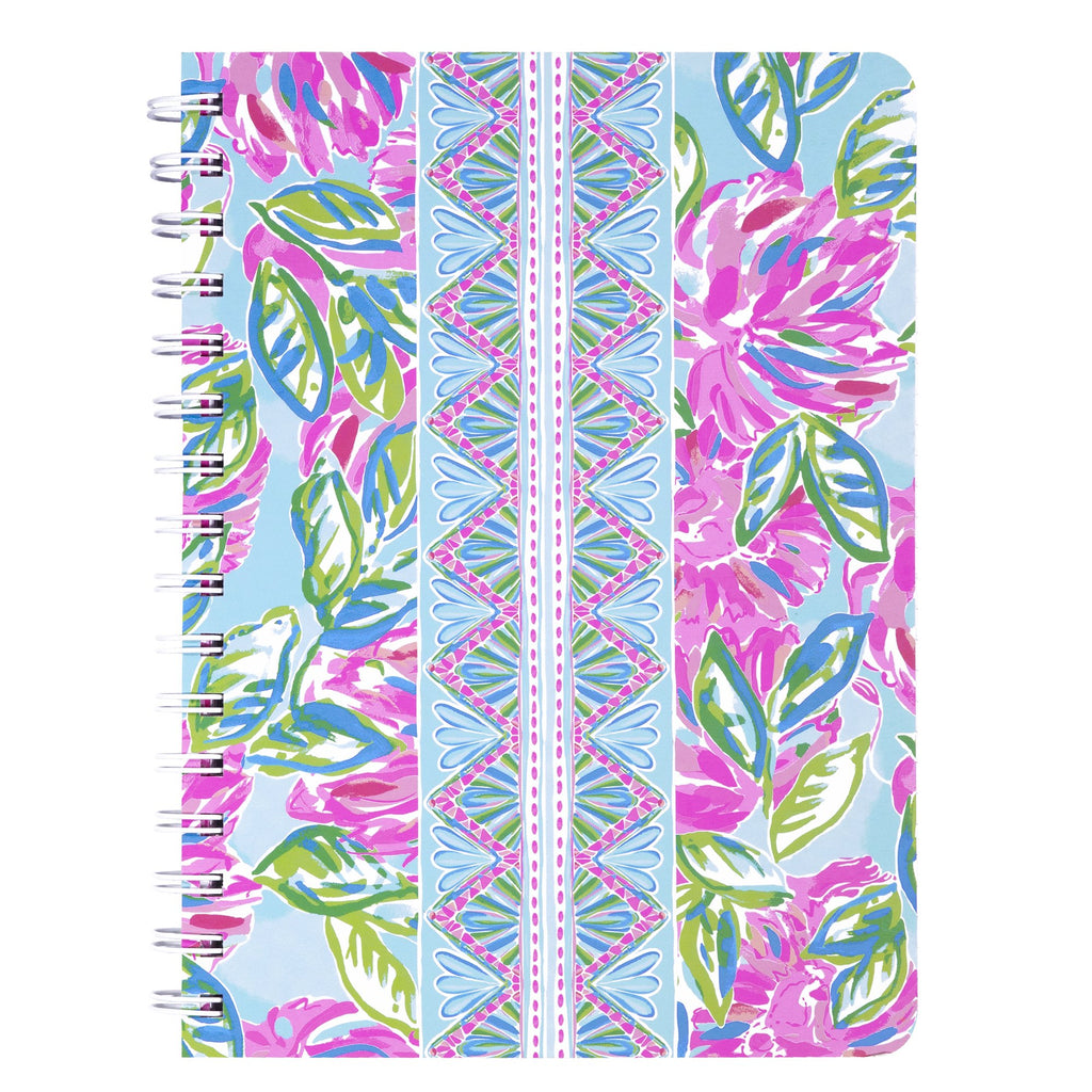 Lilly Pullitzer Mini Notebook, Totally Blossom