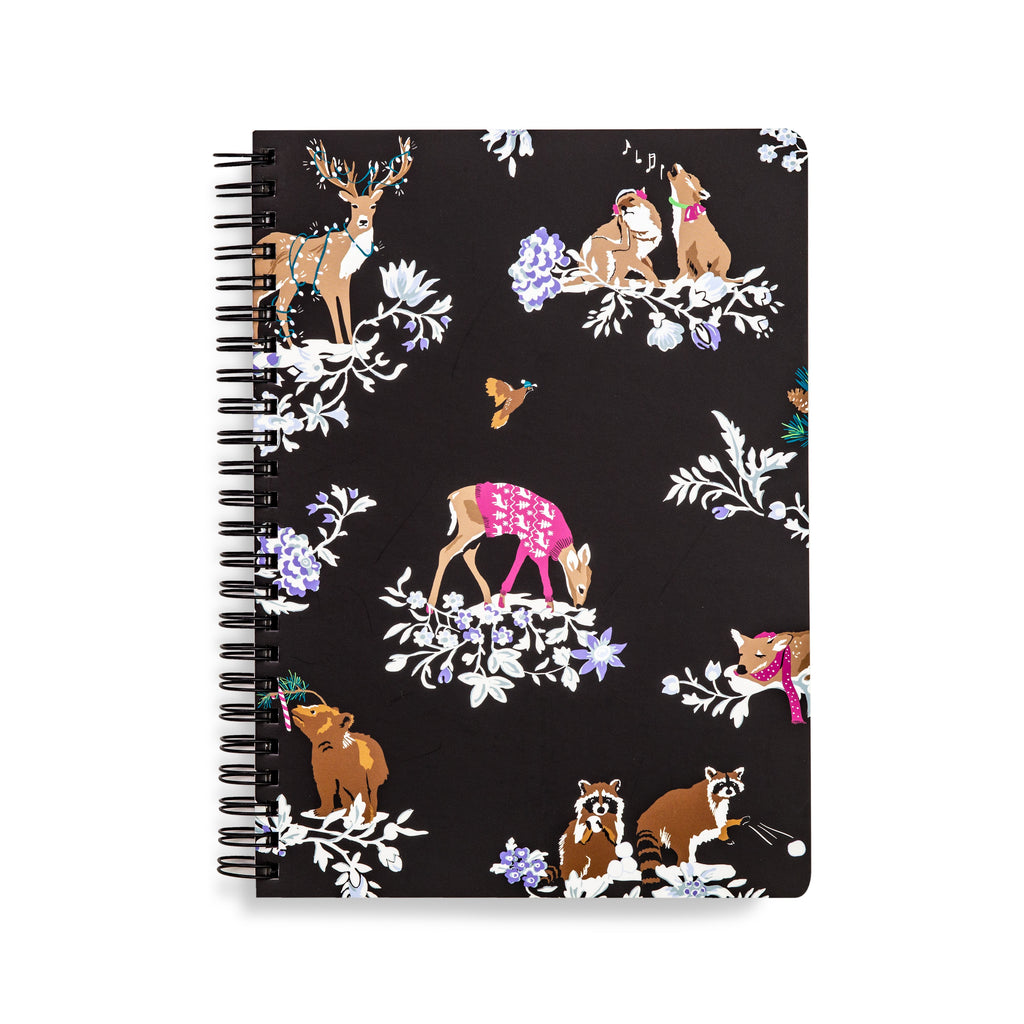 Vera Bradley Mini Notebook, Merry Mischief