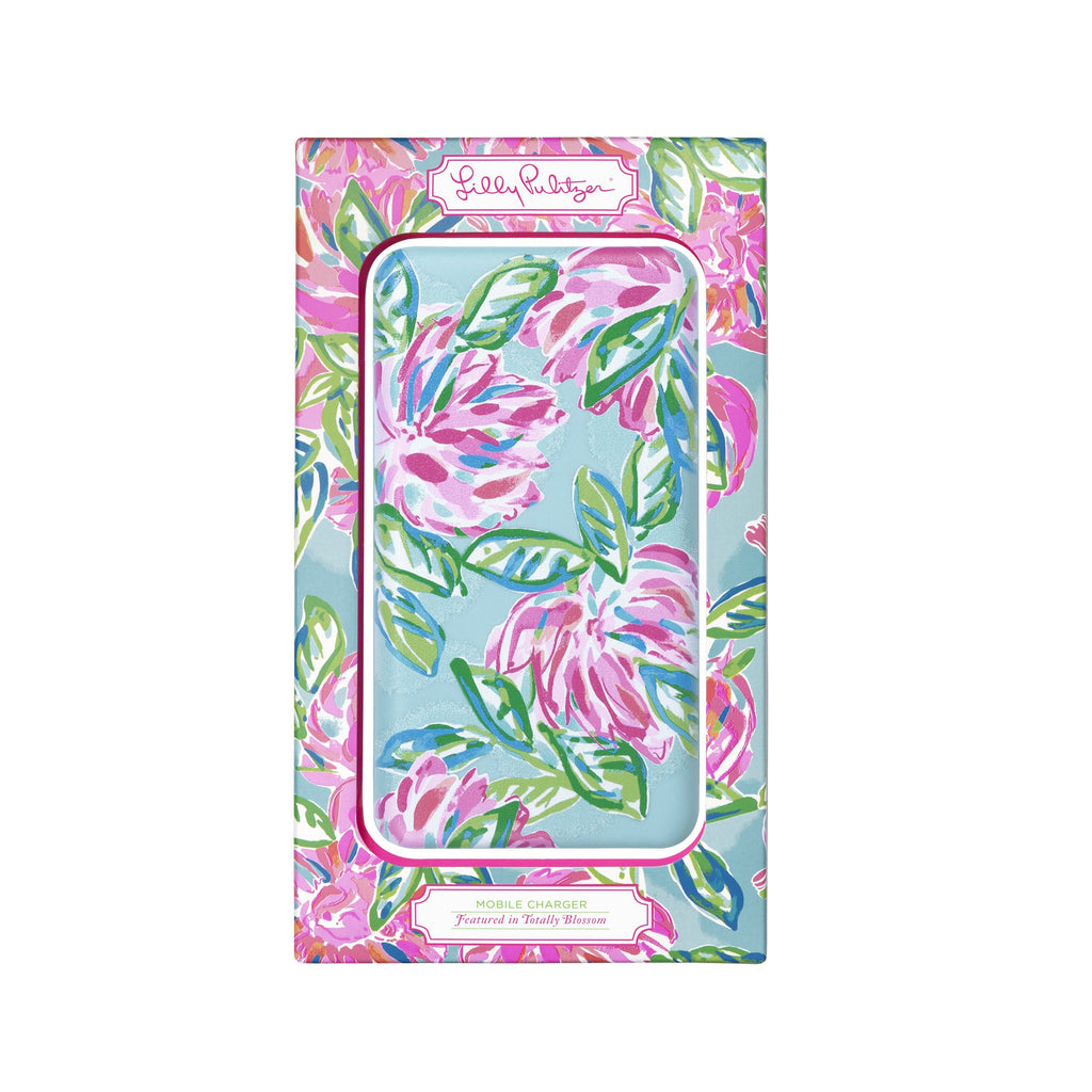 Lilly Pullitzer Mobile Charger, Totally Blossom
