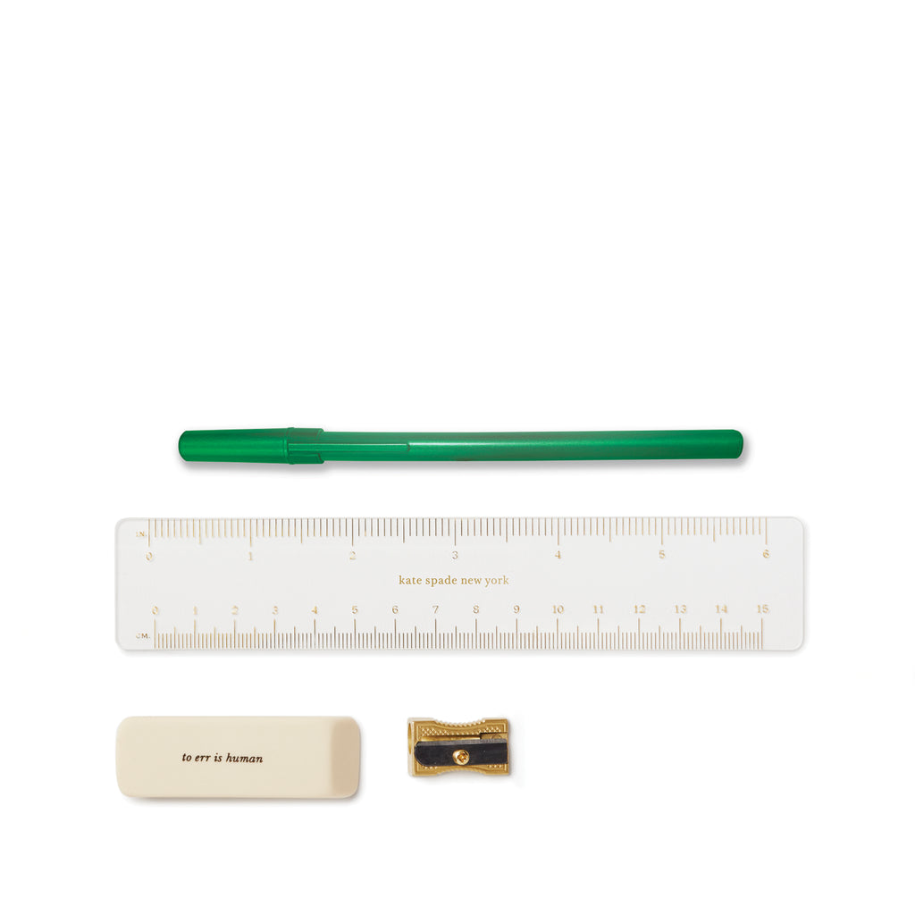 kate spade new york pencil case, enchanted stripe