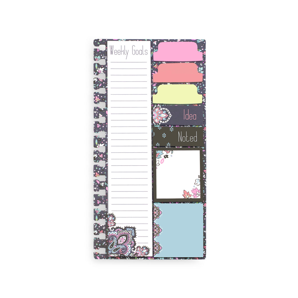 Vera Bradley Planner Sticky Notes, Bonbon Medallion