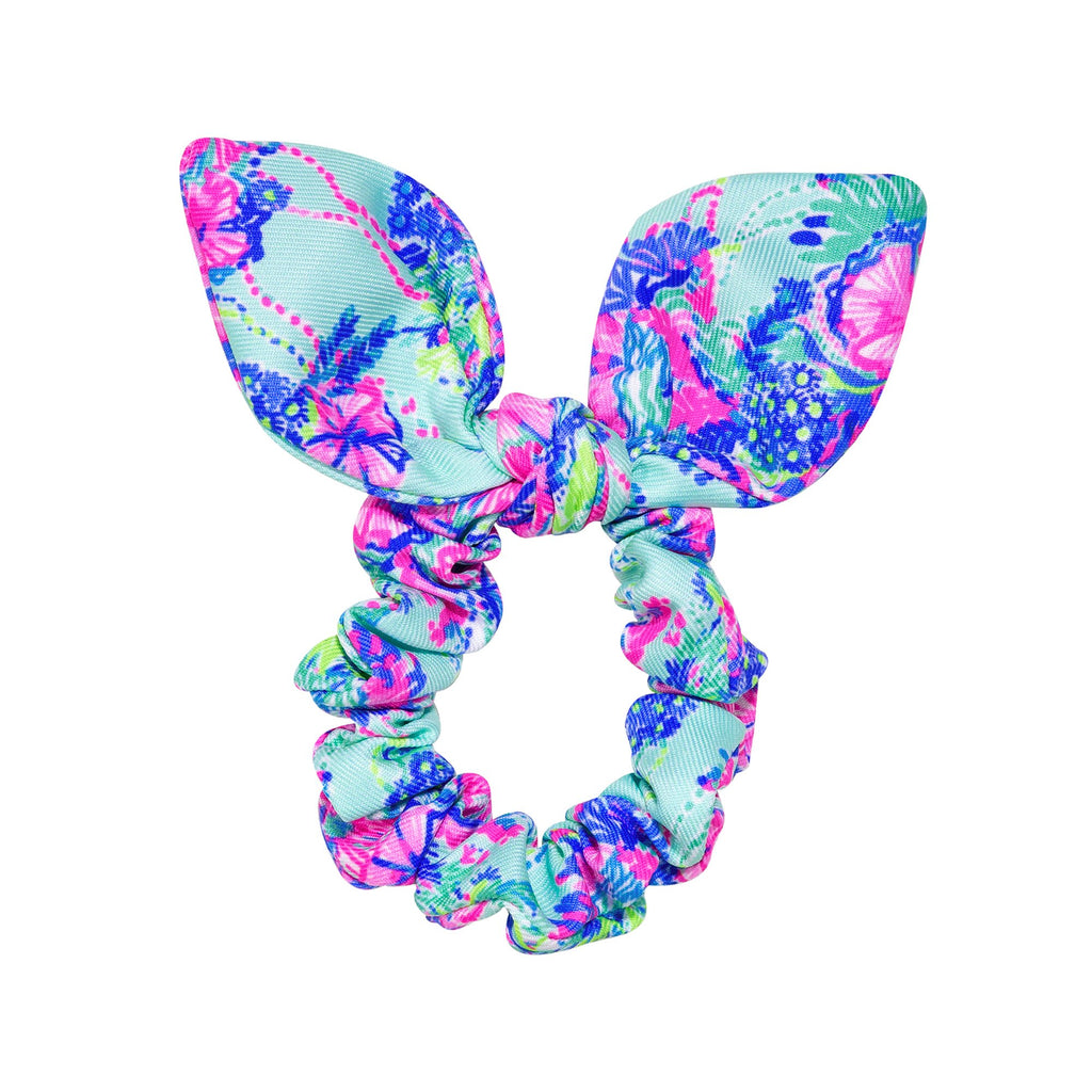 Lilly Pulitzer Hair Scrunchie, Beach You To It