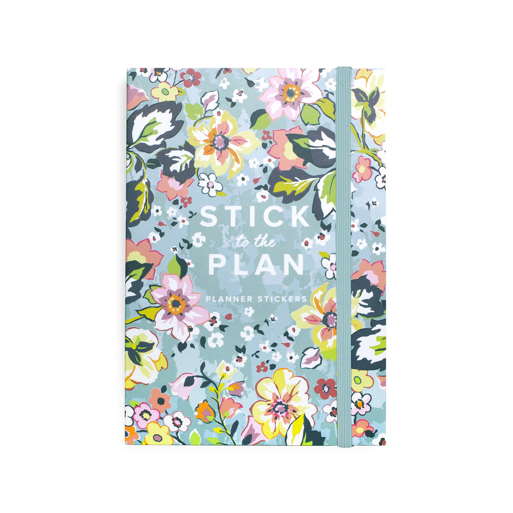 Vera Bradley Planner Sticker Book, Floating Garden