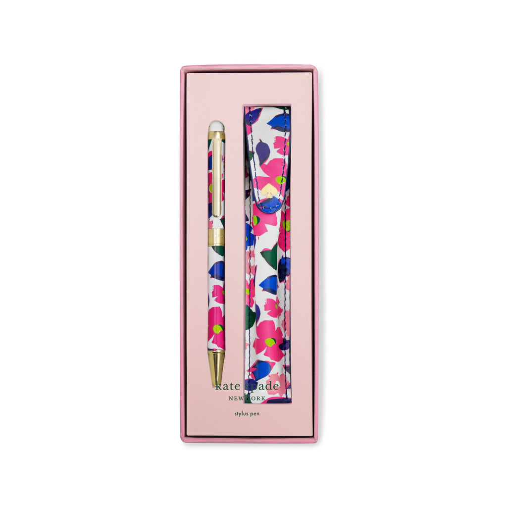 Kate Spade New York Stylus Pen with Pouch, Botanical Garden