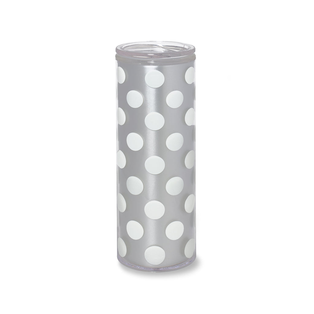 kate spade new york thermal mug, white dot