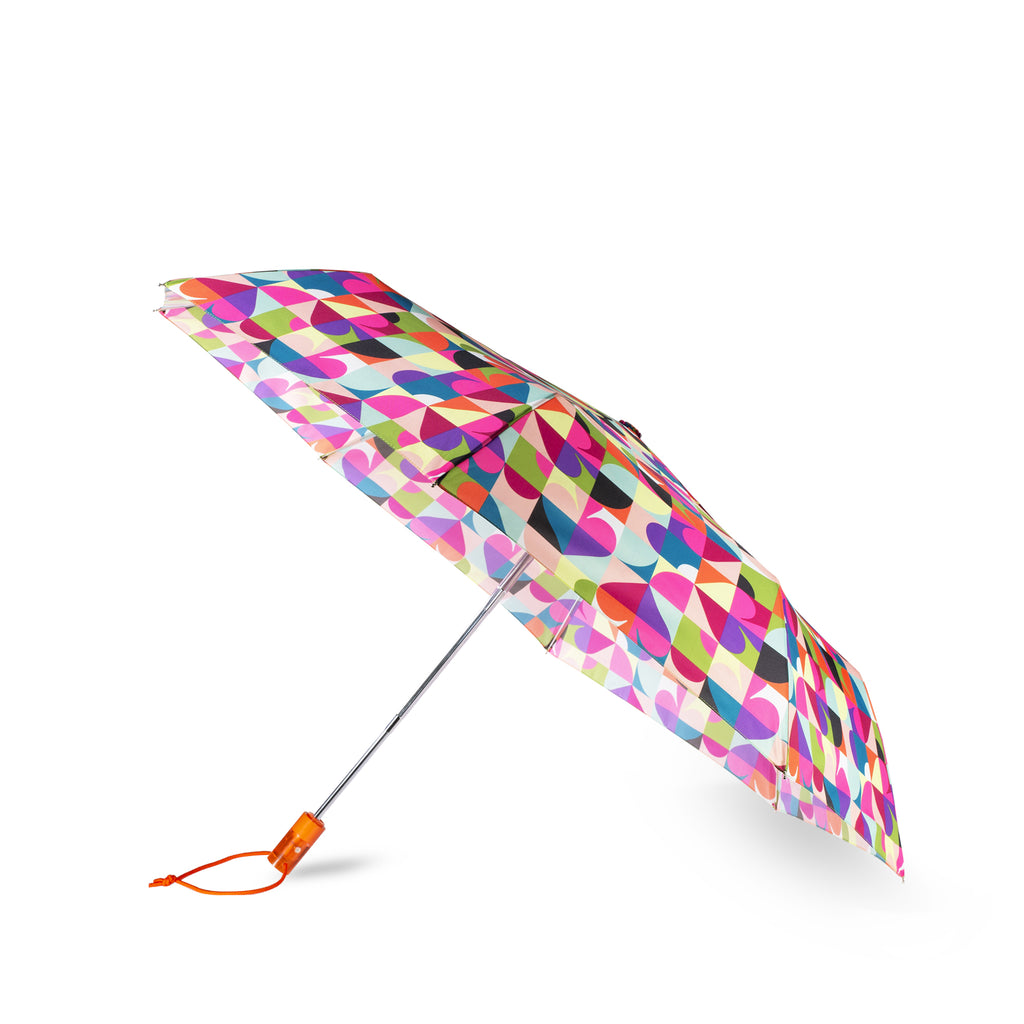 kate spade new york travel umbrella, spade dot geo