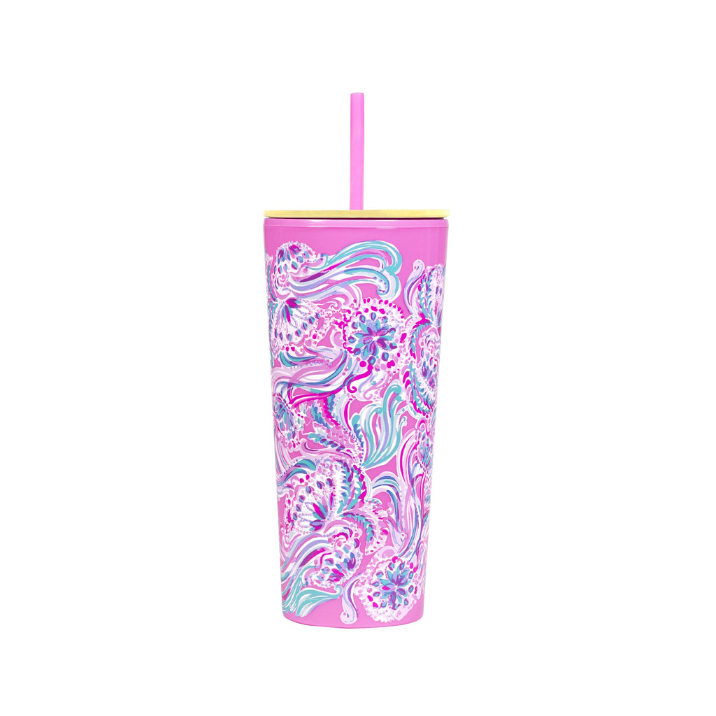 Lilly Pulitzer Acrylic Tumbler, Don't Be Jelly