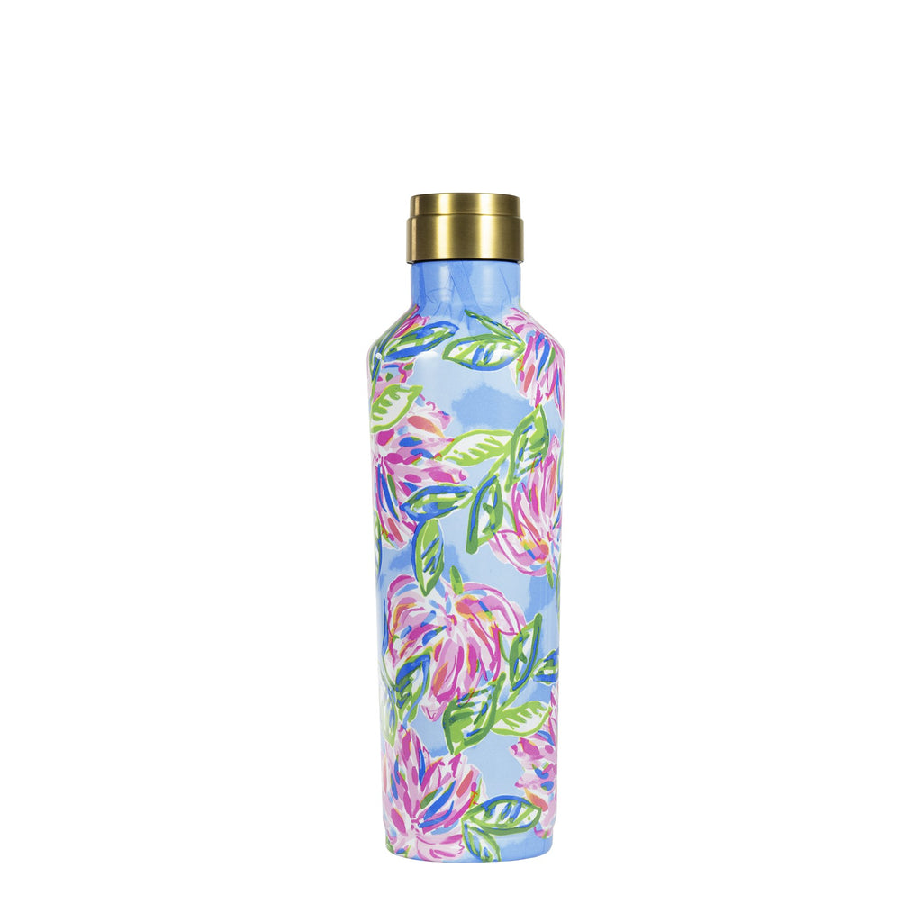 Lilly Pullitzer Stainless Steel Canteen, Totally Blossom
