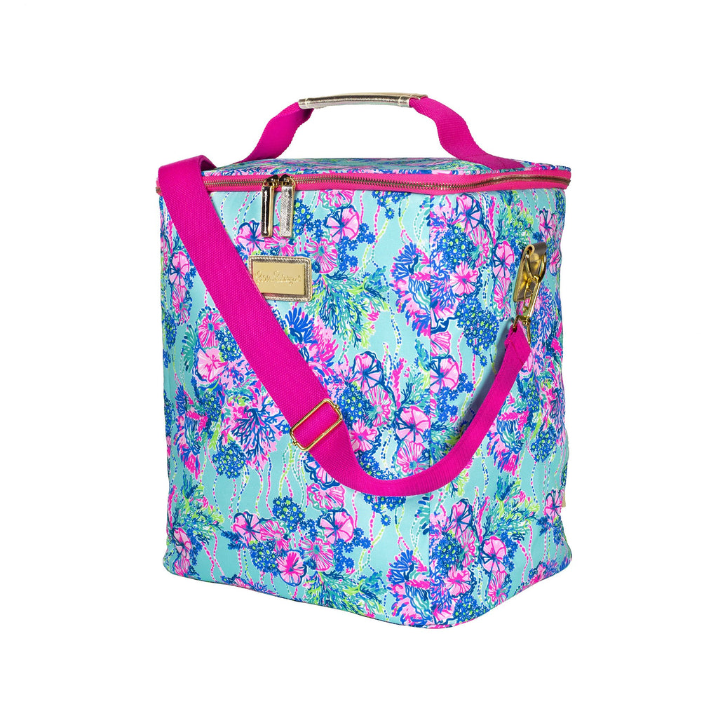 Lilly Pulitzer Wine Carrier, Beach You To It