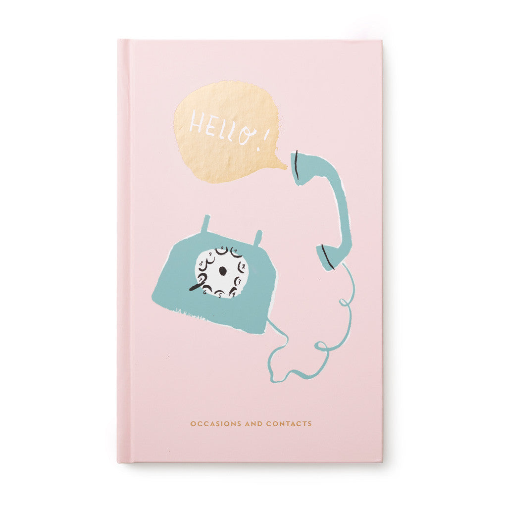 kate spade new york Address Book - Hello