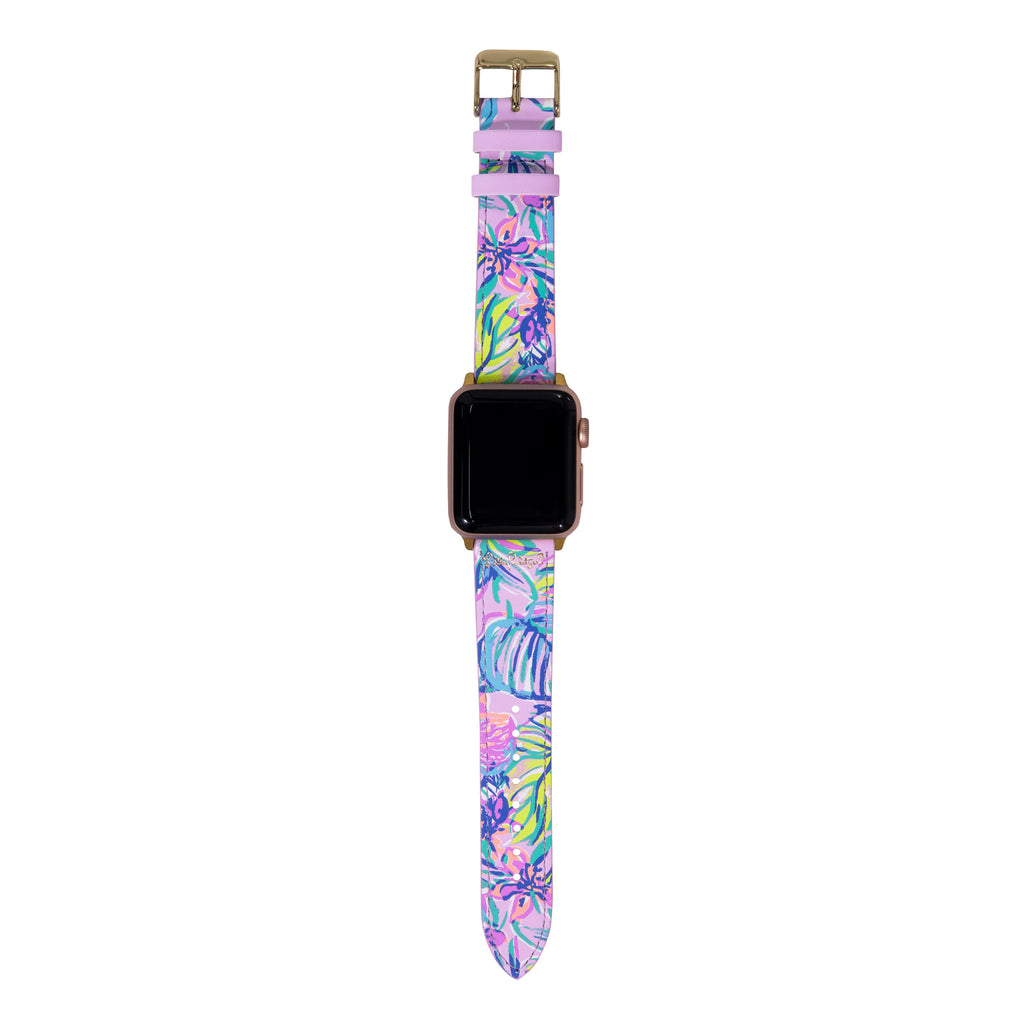 Lilly Pulitzer Apple Watch Band, Mermaid in the Shade