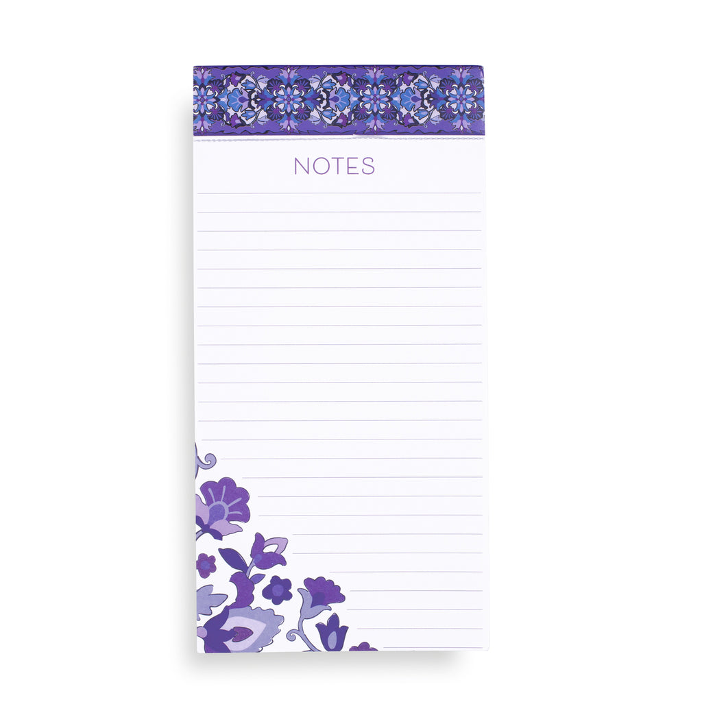 Vera Bradley Big List Pad, Regal Rosette