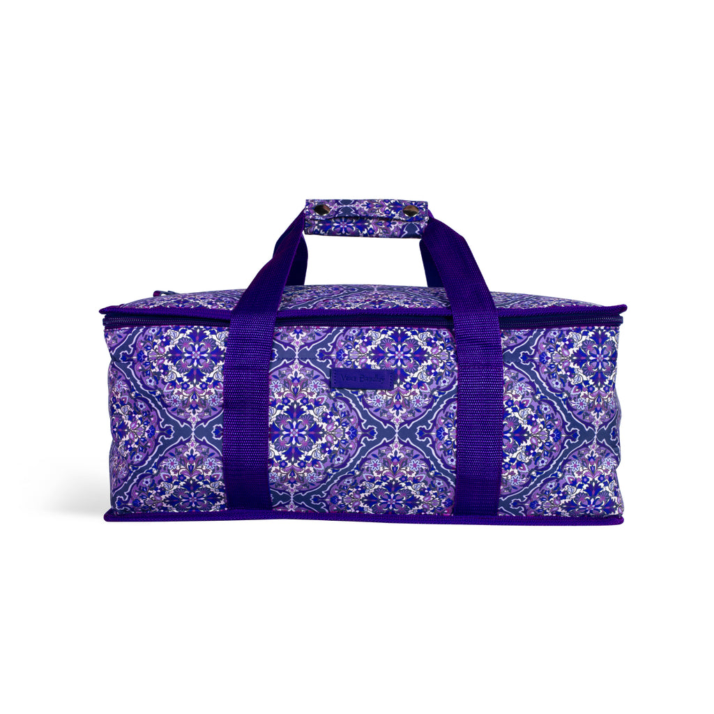 Vera Bradley Casserole Carrier, Regal Rosette