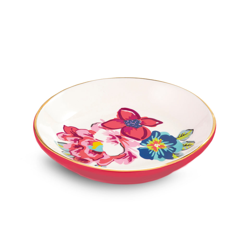 Ceramic Ring Dish, Pretty Posies