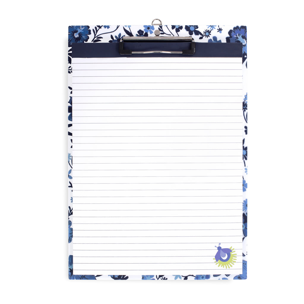 Vera Bradley Clipboard, Moonlight Garden Tonal