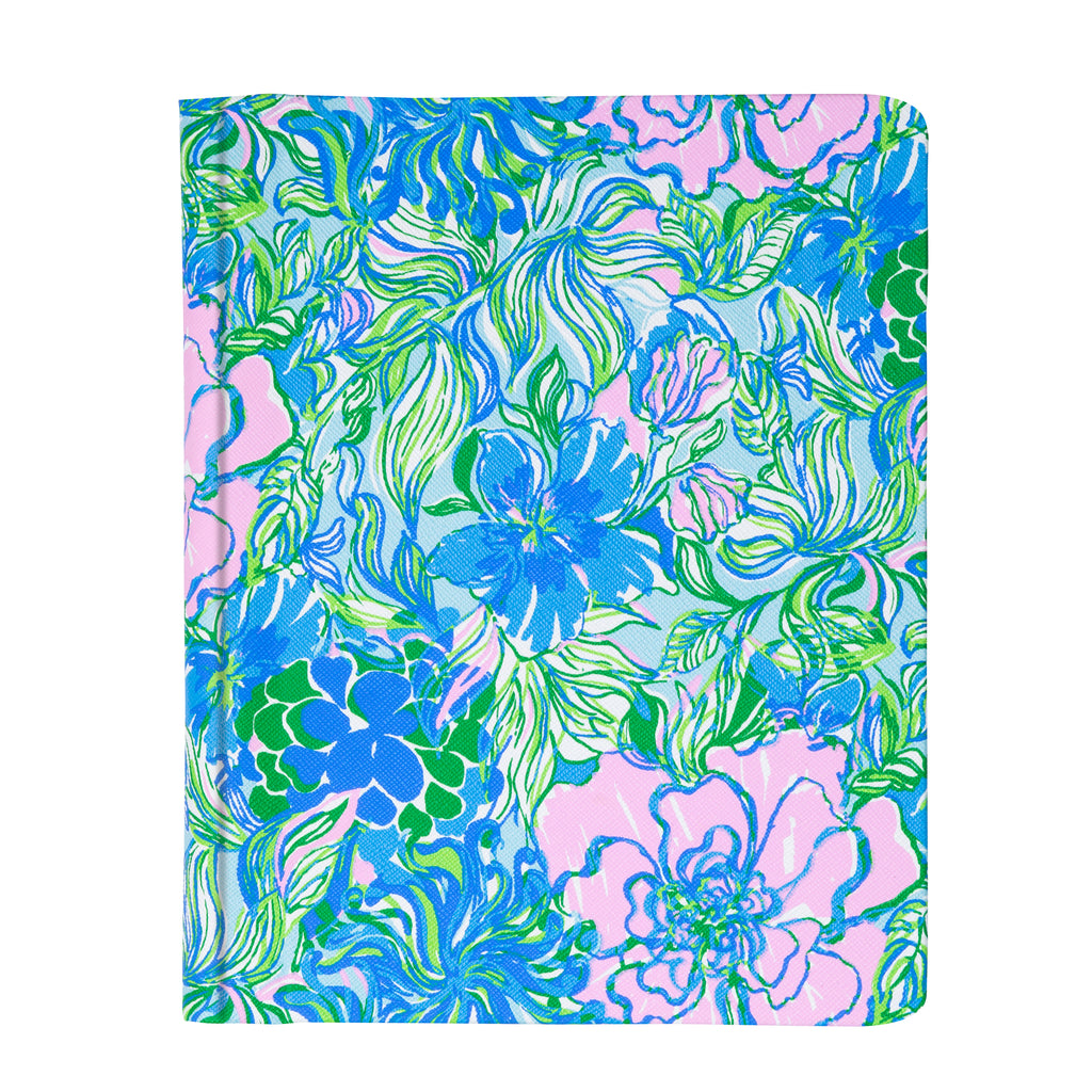 Lilly Pulitzer Concealed Spiral Journal, Party Thyme