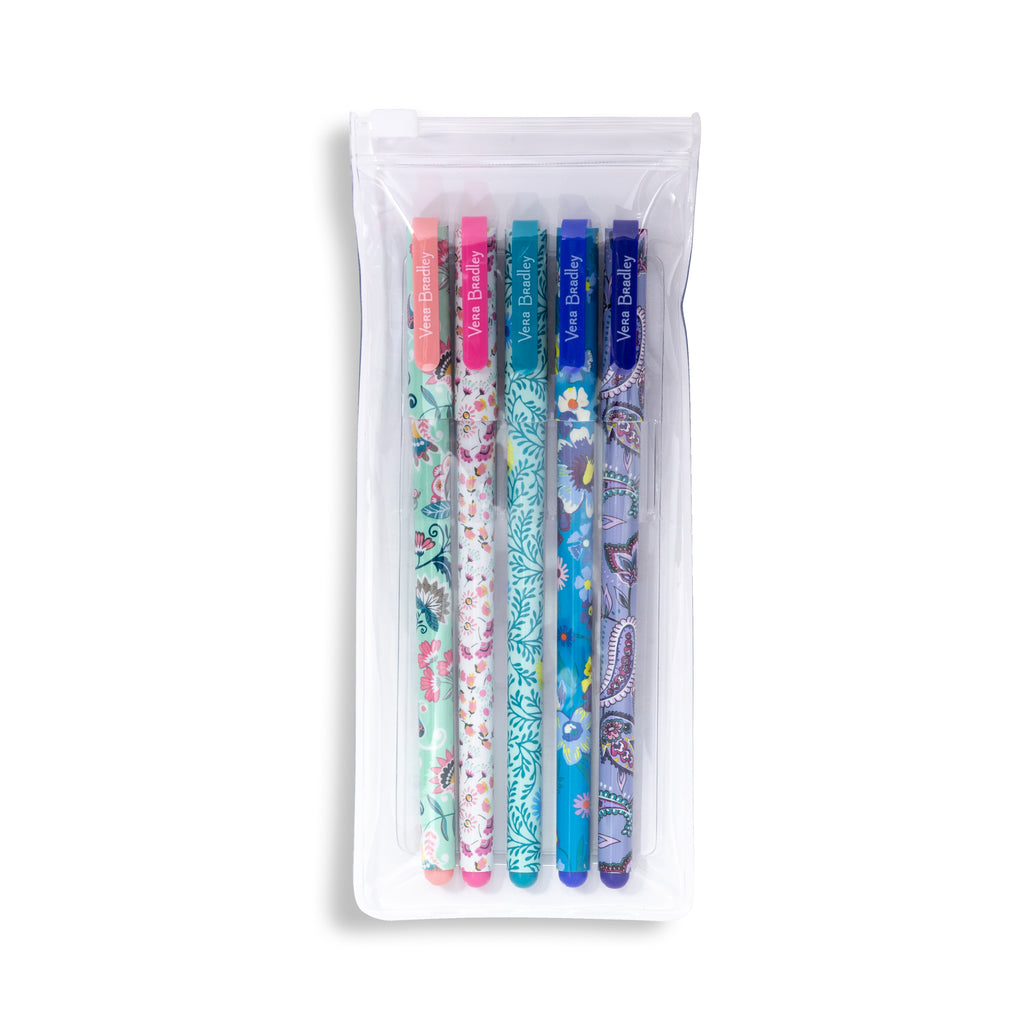 Vera Bradley Gel Pen Set,  Multi Medley