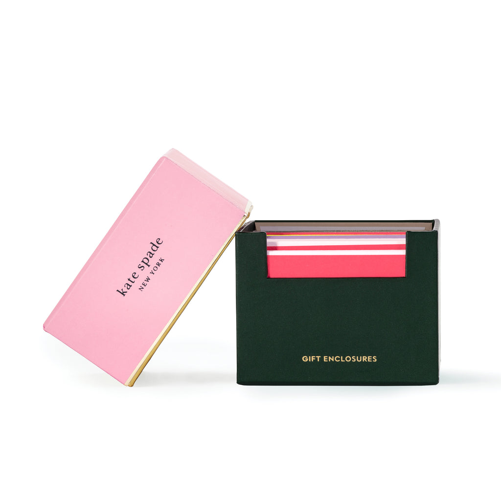 kate spade new york Gift Enclosures, color block