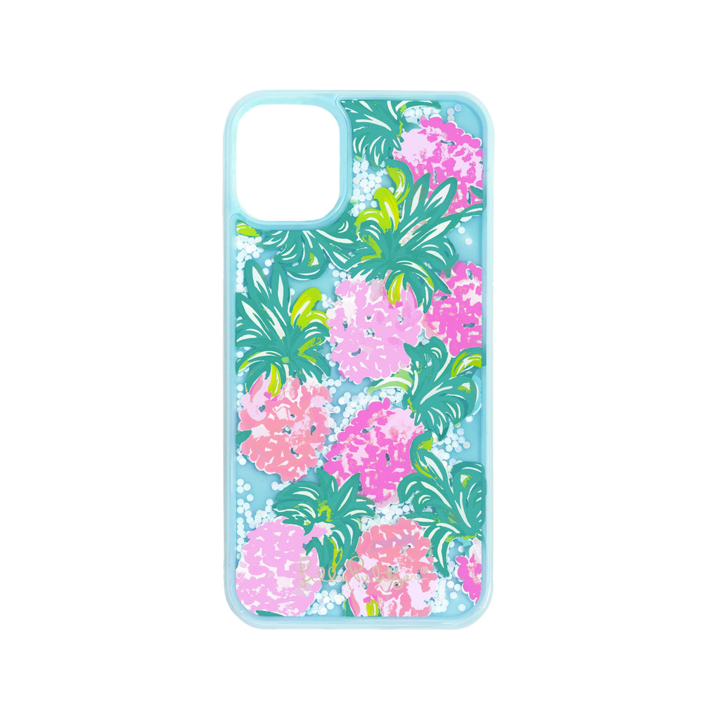 Lilly Pulitzer iPhone Case 11 - Glitter, Pineapple Shake