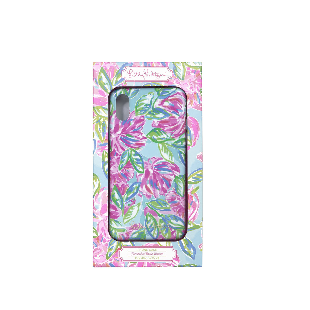Lilly Pullitzer Iphone Case XS, Totally Blossom