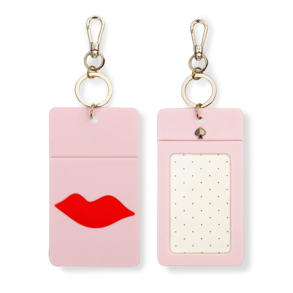 kate spade new york Id Clip, Lips