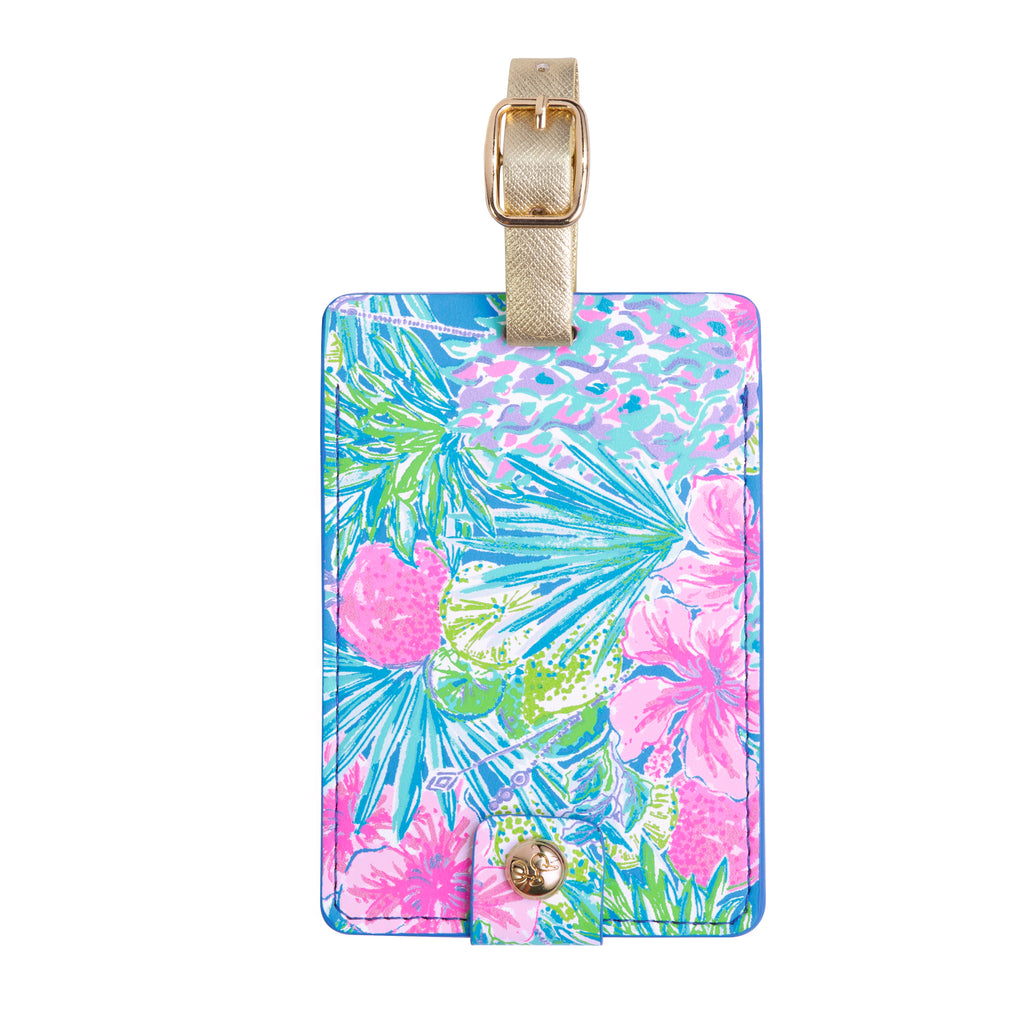 Lilly Pulitzer Luggage Tag, Swizzle In