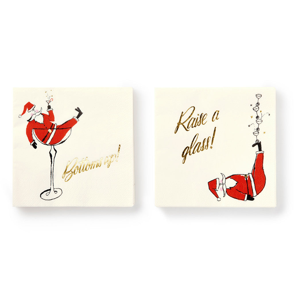 kate spade new york Holiday Napkins - Jolly Santa