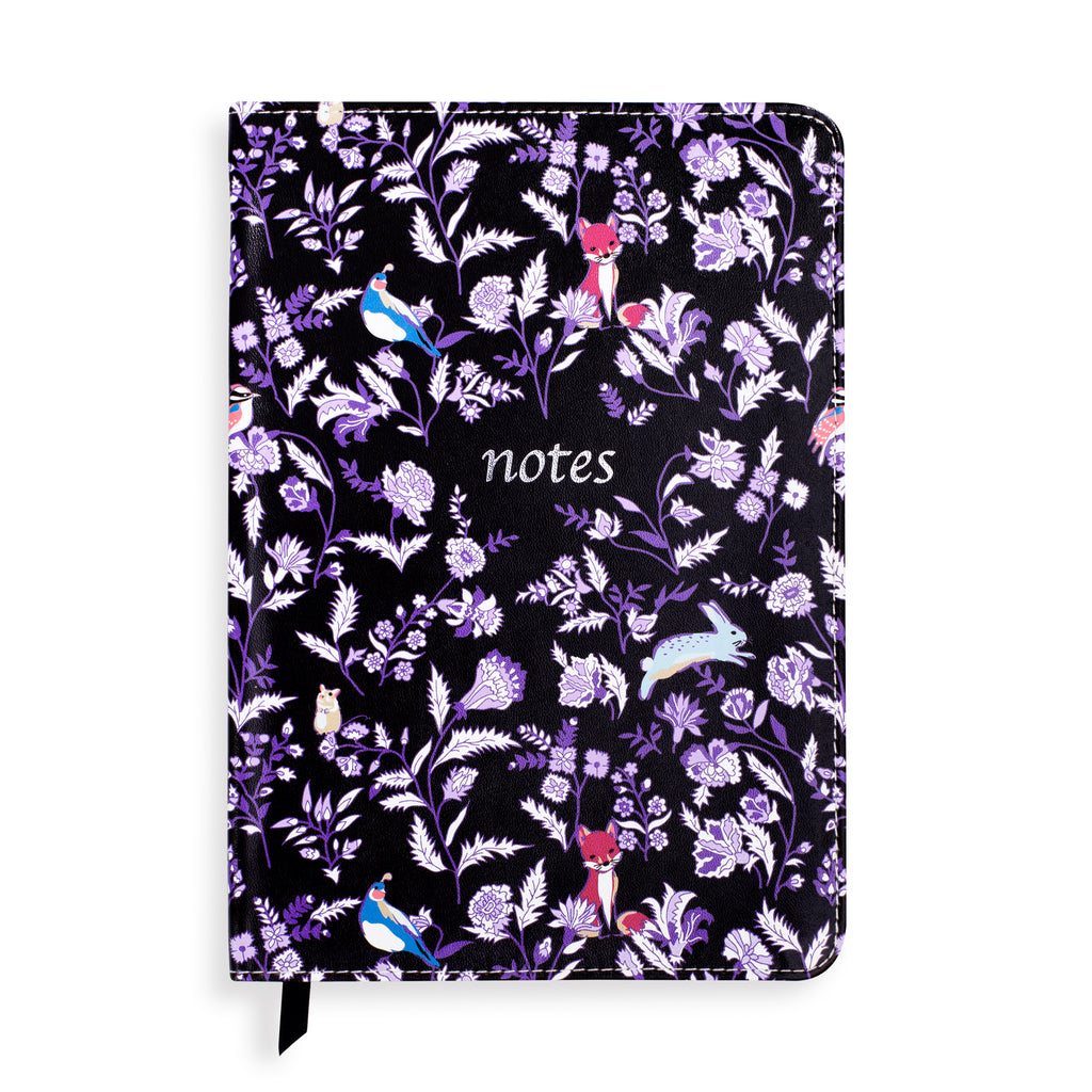 Vera Bradley Small Leatherette Journal, Foxwood