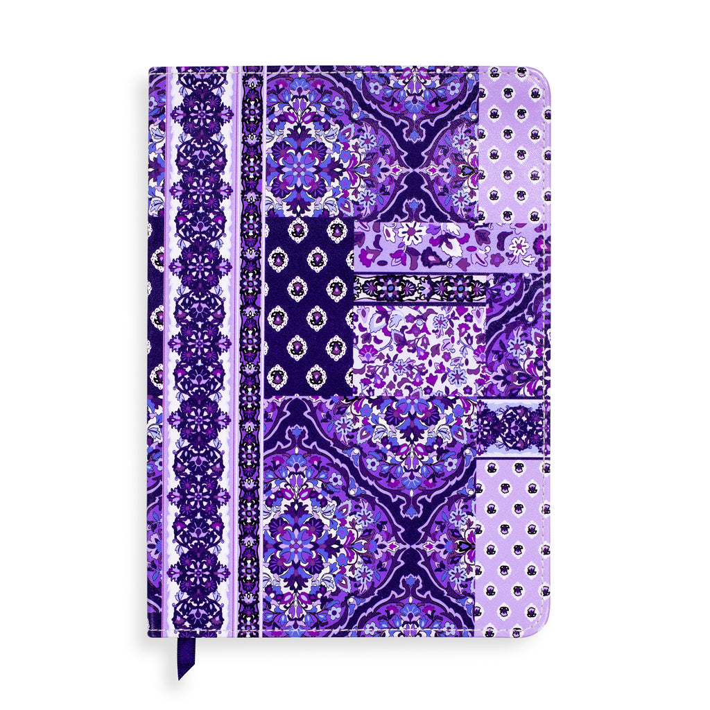 Vera Bradley Small Leatherette Journal, Regal Rosette