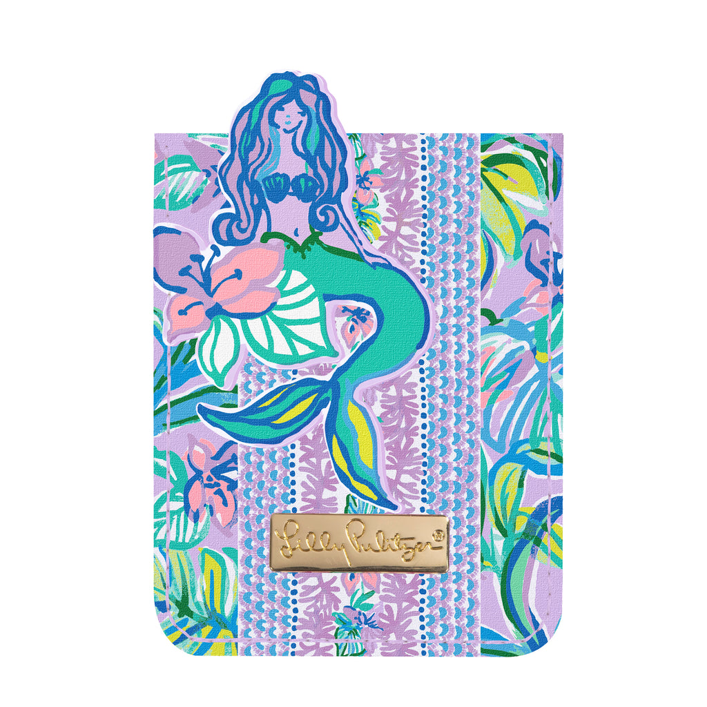 Lilly Pulitzer Tech Pocket, Mermaid in the Shade