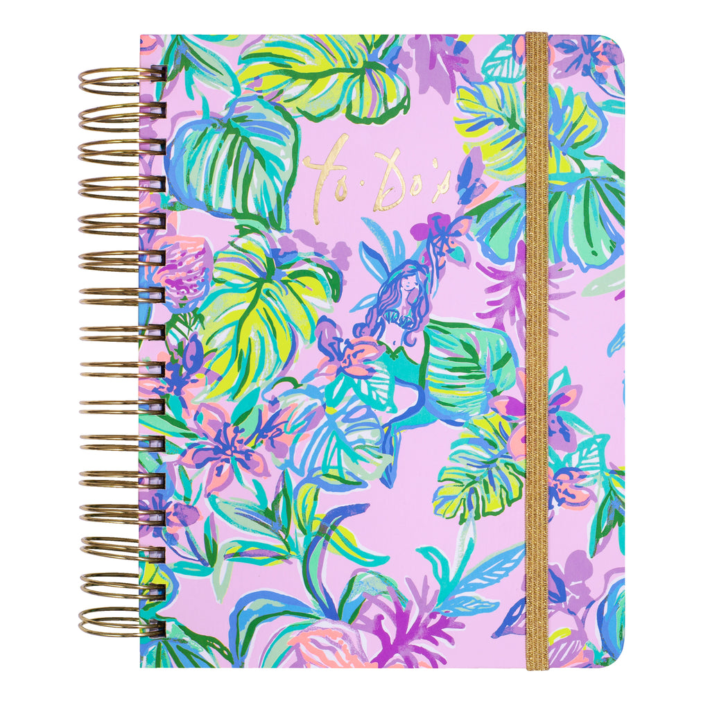 Lilly Pulitzer To Do Planner, Mermaid in the Shade