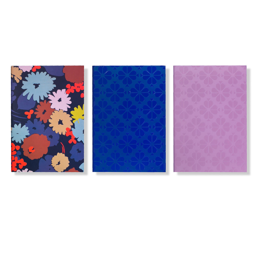 kate spade new york Triple Notebook Set, Swing Flora