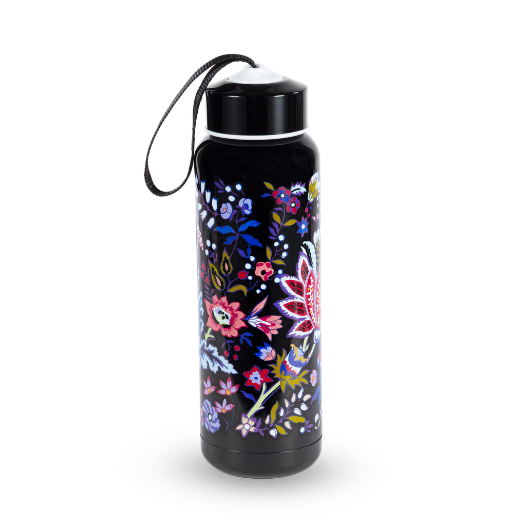 Vera Bradley Stainless Steel Water Bottle, Foxwood