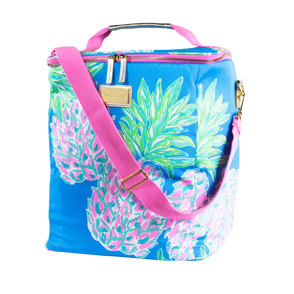 Lilly Pulitzer Wine Carrier, Swizzle Out