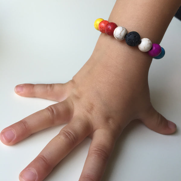 Little Rainbow Diffuser Bracelet